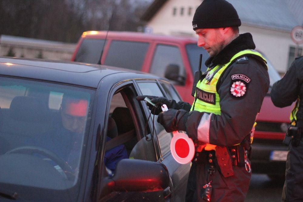Lietuvos policija informuoja: spalio mėnesio policijos reidai