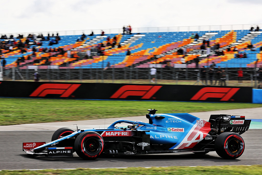 F. Alonso išvengė baudos