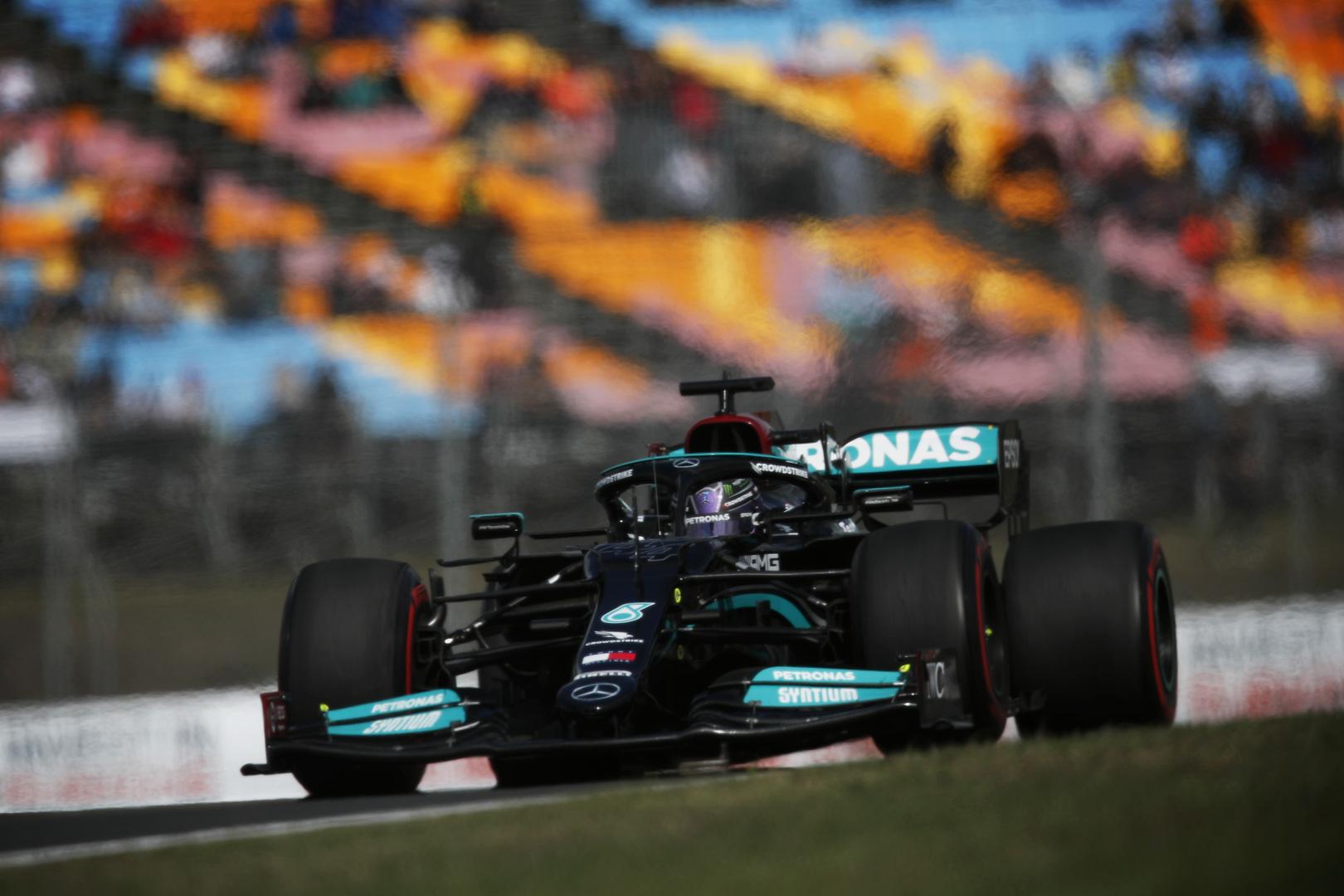 T. Wolffas: supratome, kad Lewisas nepasieks finišo