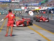 D.Britanijos GP: Šeštadienio treniruotės