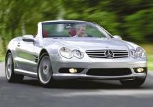 Damonas Hillas sudaužė Mercedes-Benz SL55 AMG