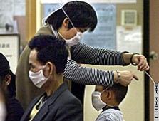 SARS virusas grasina F-1