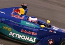 "R.Barrichello siejamas su ""Sauber"""