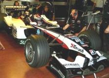 """""""Minardi"""" išbandė """"Arrows"""" bolidus"""