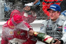 Metų pilotai – M.Schumacheris ir K.Raikkonenas