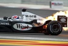 """Dviguba """"McLaren"""" nelaimė"""