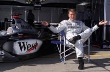 """M.Hakkinenas niekada negrįš į """"Formulę-1"""""""