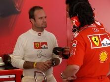 R.Barrichello prarado greitį dėl padangų