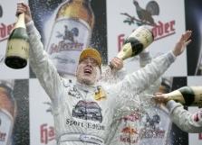 DTM. Pirmoji M.Hakkineno pergalė!