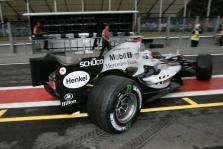 Belgijos GP: šeštadienio treniruotės Nr.1