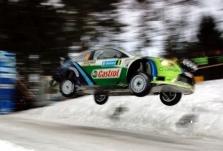 "<span style=""background:#000000; color:white; padding: 0 2px"">WRC</span> M.Gronholmas didina atotrūkį nuo S.Loebo"