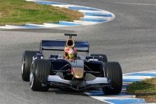 "Pirmąkart išbandytas ""Toro Rosso STR01"" bolidas"