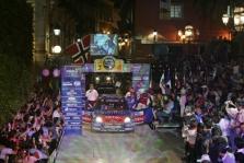 """<span style=""""background:#000000; color:white; padding: 0 2px"""">WRC</span> Meksikos ralį laimėjo S.Loebas"""