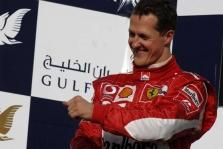 M.Schumacheris patenkintas antrąja vieta