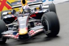 D. Coulthardas startuos 13-as