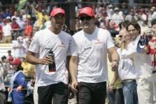 F. Alonso tikisi L. Hamiltono nelaimės