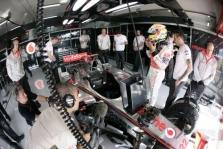 "Pakeista ""McLaren"" boksų vieta"