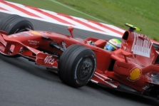 Bandymai: 2008-06-24, Silverstone'as