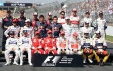 """2009 m. """"Formulės-1"""" komandų sudėtys"""