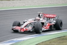 Vokietijos GP: šeštadienio treniruotės