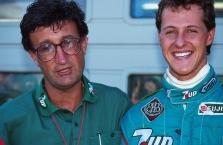 """E. Jordanas: M. Schumacheris lenktyniaus """"Mercedes"""""""