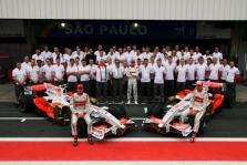 """""""Force India"""" nekeis G. Fisichellos ir A. Sutilo"""