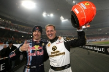 S. Vettelis: ažiotažas dėl M. Schumacherio išblės