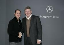 R. Brawnas: M. Schumacheris vis dar turi savo talentą
