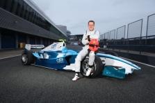 M. Schumacheris GP2 bandymuose pasižymėjo greičiu