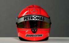 M. Schumacherio šalmas lieka raudonas