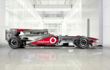 "Oficialiai pristatytas ""McLaren MP4-25"" bolidas"