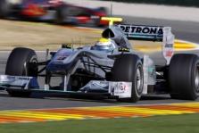 "N. Rosbergui ""Mercedes"" paliko gerą įspūdį"