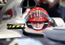 M. Schumacheriui nepavyko išnaudoti bolido