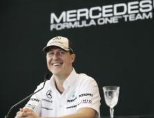M. Schumacheris: turiu prie visko priprasti