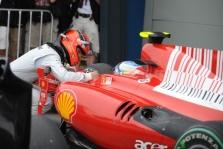Kodėl F. Alonso nelenkė F. Massos?