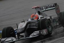 M. Schumacheris taikosi į penketuką