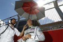 M. Schumacheris laukia lenktynių Belgijoje