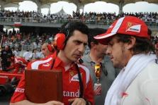 F. Alonso: avarija užtvėrė kelią link pakylos