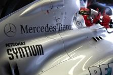 """Mercedes"" ekipoje skirtingos nuotaikos"