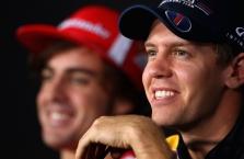 """S. Vettelis ir F. Alonso – pretendentai į vietą """"Aston Martin"""" komandoje"""