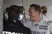 M. Schumacheris: per lietų būtų sekęsi geriau