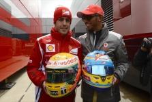 P. de la Rosa: F. Alonso ir L. Hamiltonas buvo stipriausia visų laikų F-1 pilotų pora