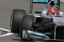"""Mercedes"" problema - padangos"