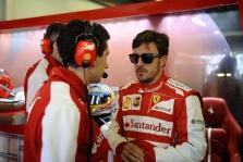 """Ferrari"": F. Alonso liko trasoje mūsų nurodymu"