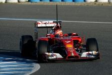 Pirmąją bandymų dieną Jereze greičiausias K. Raikkonenas
