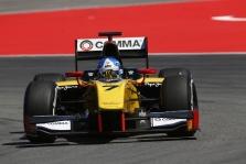 "<span style=""background:#00adef; color:white; padding: 0 2px"">GP2</span> Vokietijoje ""pole"" iškovojo J. Palmeris"