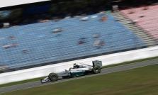 """""""Mercedes"""" nusivylusi mažu žiūrovų skaičiumi Vokietijoje"""