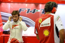 """L. di Montezemolo: F. Alonso priklauso geriausių visų laikų """"Ferrari"""" lenktynininkų trejetui"""