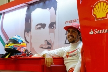 Nustebintas F. Alonso tikisi kovoti dėl vietos ant podiumo