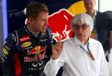 B. Ecclestone'as žino apie S. Vettelio planus